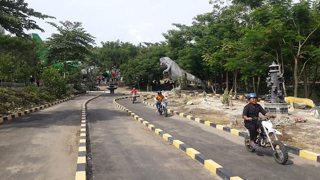 Wahana motor trail mini wisata wego Lamongan