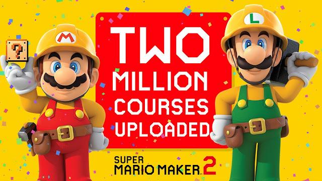Super Mario Maker 2 (Switch) já atingiu a marca de 2 milhões de fases disponíveis
