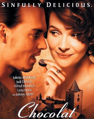 Poster Of Chocolat (2000) In Hindi English Dual Audio 300MB Compressed Small Size Pc Movie Free Download Only At worldfree4u.com