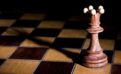 Pieza de ajedrez protagonista