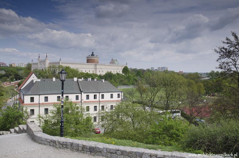 widok Lublin, architekt na szpilkach