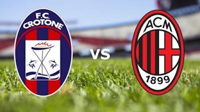 مباراة ميلان وكروتوني يلا شوت بلس في الدوري الإيطالي7-2-2021  والتشكيلة المتوقعة للفريقين