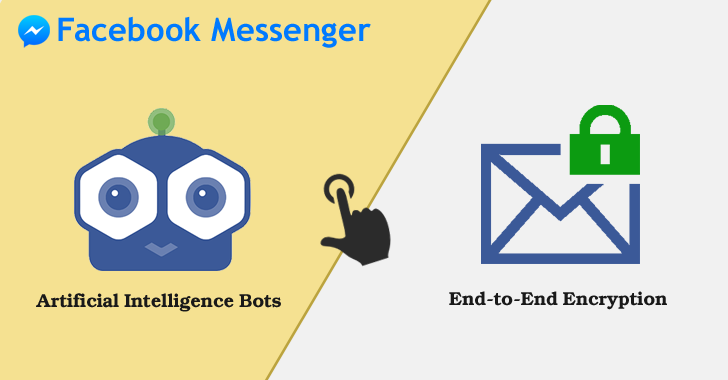 Facebook Messenger App — Choose either End-to-End Encryption or Artificial Intelligence