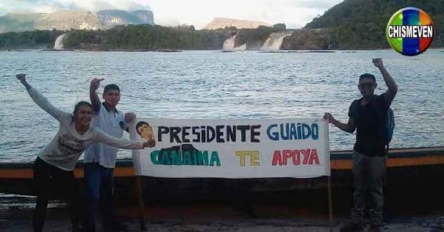 Guaidó denuncia ante la ONU que el Parque Nacional Canaima está en peligro