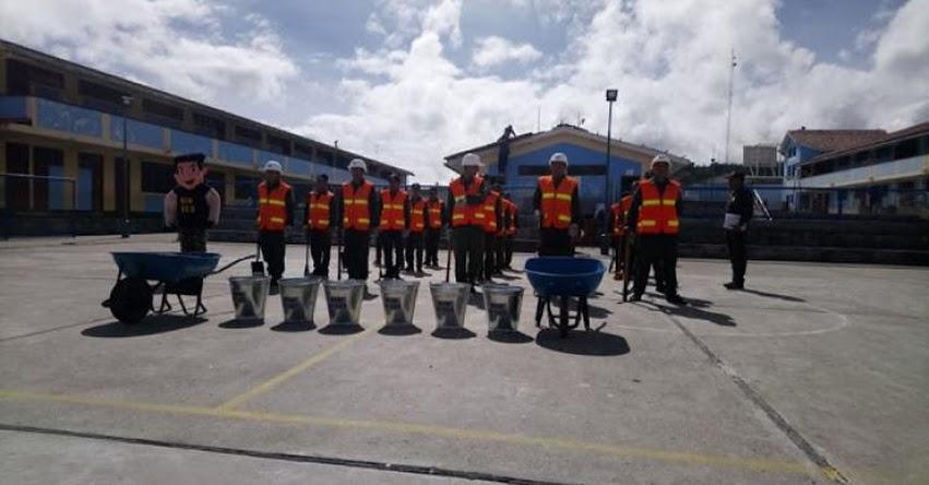 Ejército Peruano continúa labor de mantenimiento en colegios de La Libertad - www.ejercitodelperu.mil.pe