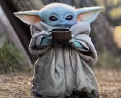 Sugar Swings! Serve Some: Baby Yoda Sipping Soup - The Mandalorian ...