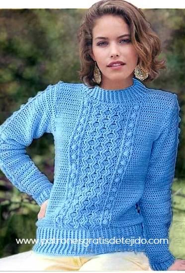 como-tejer-sueter-crochet