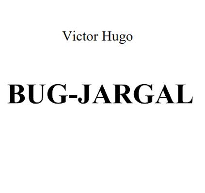 Bug Jargal By Victor Hugo In Pdf (French)