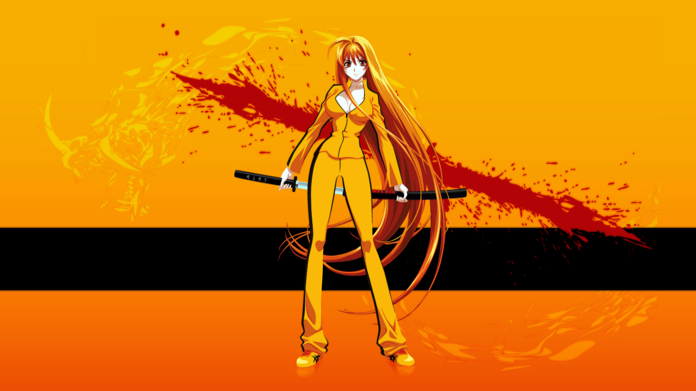 Fighter Anime Girl Wallpapers