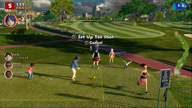 PlayStation 4 golf game