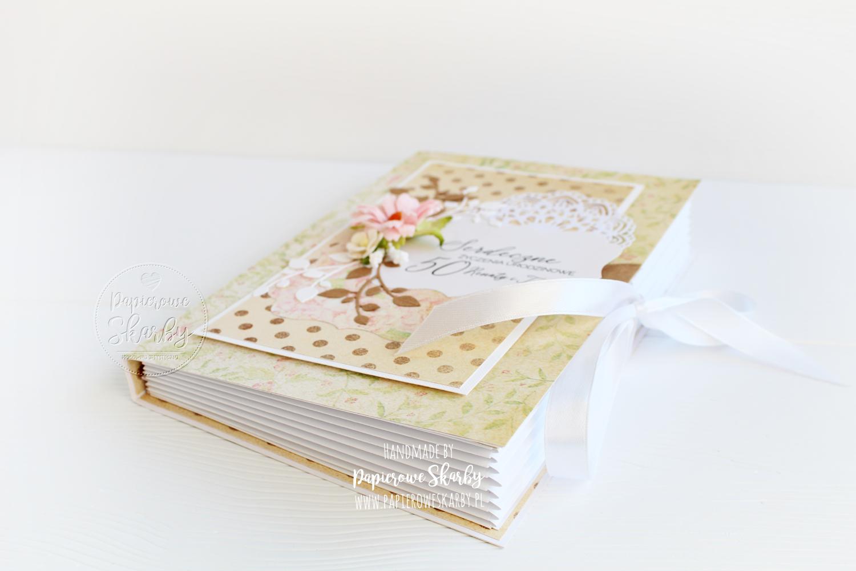 scrapbooking handmade rękodzieło cardmaking papierowe skarby kartka kartki kartka księga harmonijka 3d 50 urodziny pięćdziesięte pięćdziesiątka podwójne urodziny kartka dla małżeństwa rocznica abrahama
