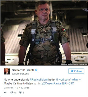 "CNBC ""Expert"" Felon and High School Dropout Bernard Kerik thinks Nice is Paris!"