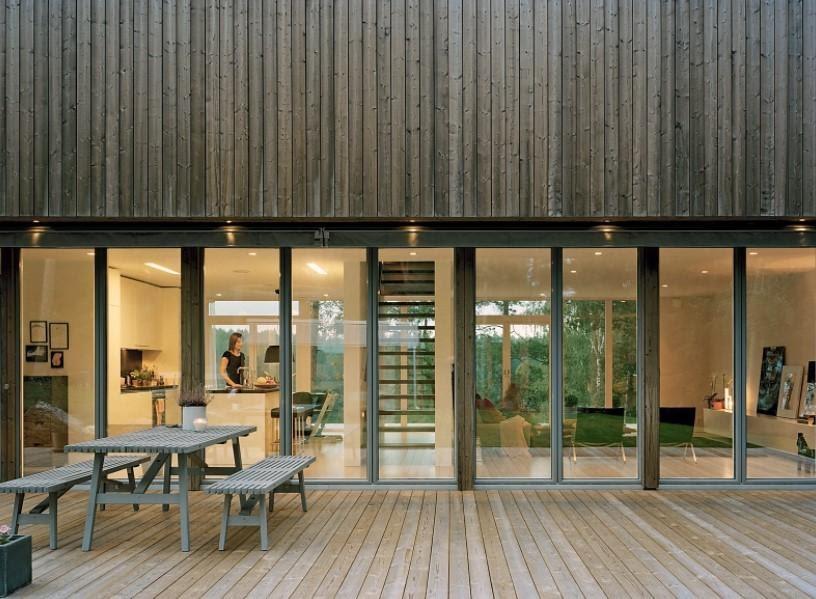 Holz Gewächshaus Design