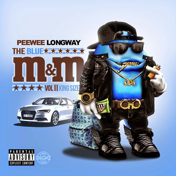 Peewee Longway - The Blue M&M 2 (King Size) Cover