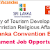 Sri Lanka Convention Bureau - VACANCIES