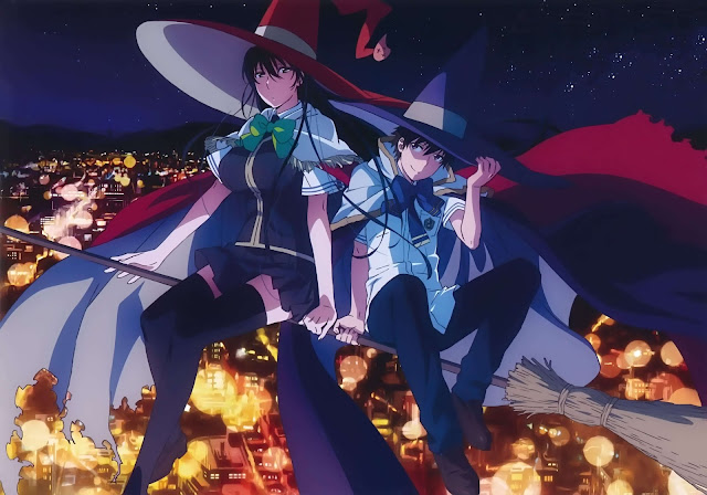 Download OST Opening Ending Anime Witch Craft Works Full Version