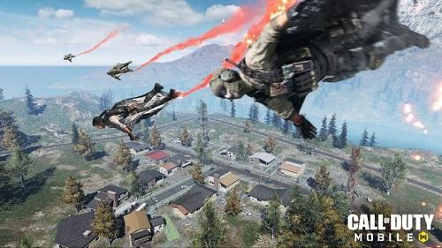 Thể loại sinh tồn của Call of Duty mobile cũng có không ít biệt lập so với Game PUBG