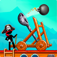 The Catapult: Clash with Pirates Apk Game free Download
