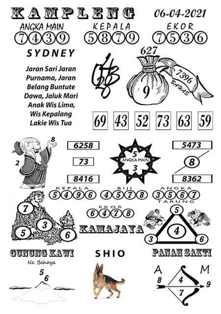 Kampleng Sidney Selasa 06-Apr-2021