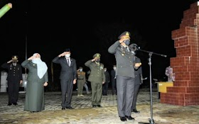 Ketua DPRD Kabupaten Muaro Jambi ikuti upacara renungan suci peringatan HUT RI 76.