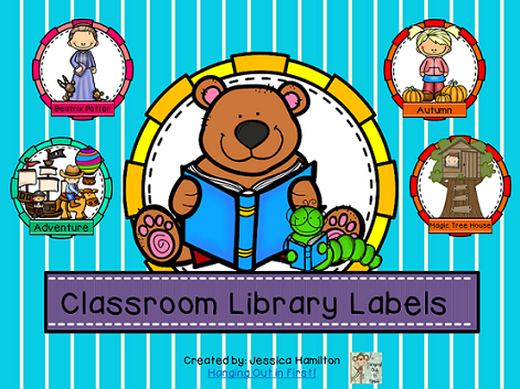 http://www.teacherspayteachers.com/Product/Classroom-Library-Book-and-Bin-Labels-1302544