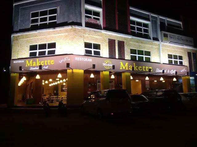 Makette Steamboat & Grill di Kuala Terengganu