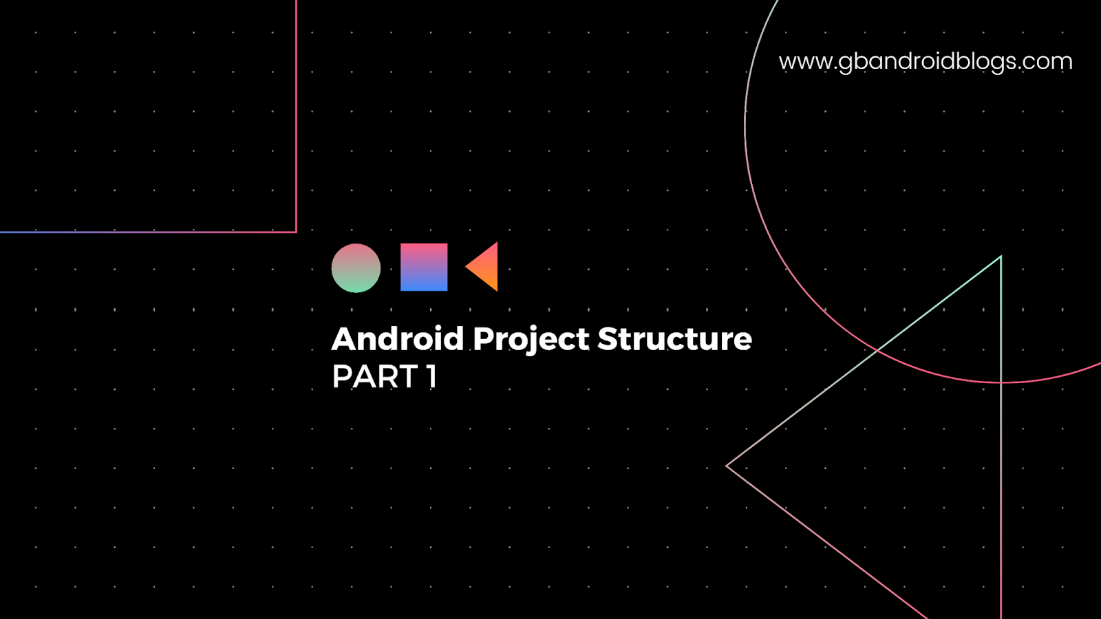 Android Project Structure Part 1