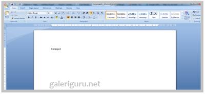 Belajar Mengetik Di Komputer Atau Laptop Dengan Microsoft Word Untuk Pemula2
