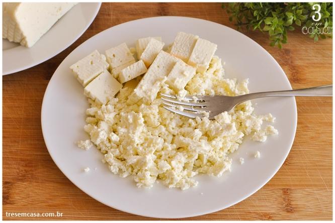 patê de queijo minas temperado