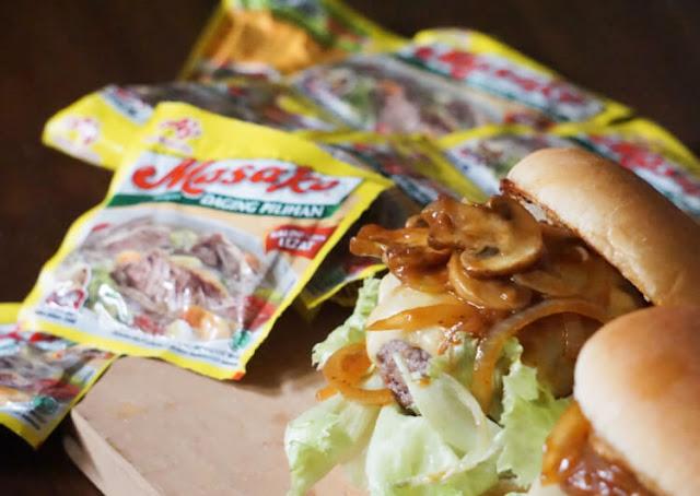 resep beef burger ala dapur kenai