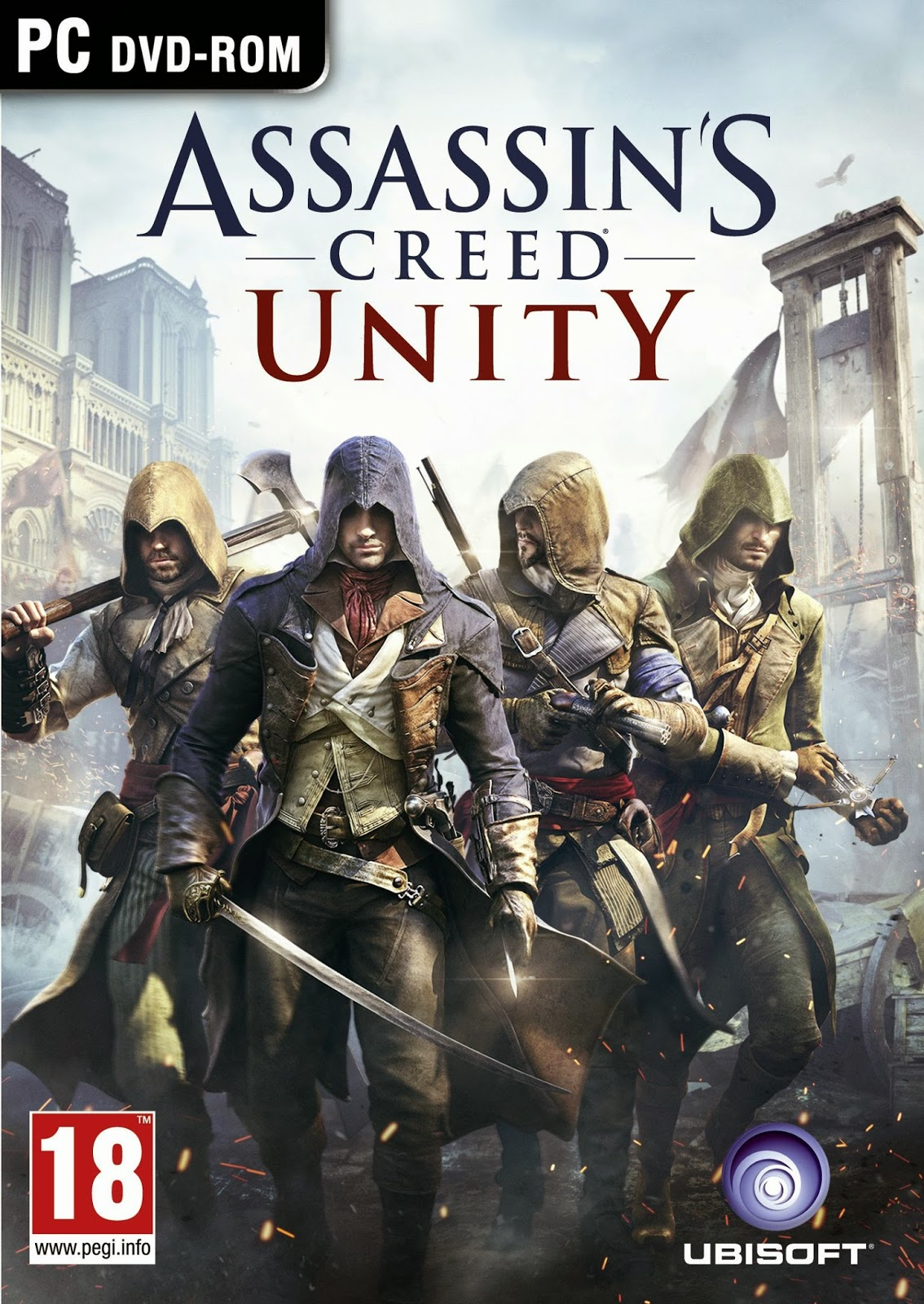 Assassin's Creed Unity PC Cover Caratula