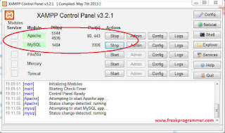 Cara Membuat Database Mysql Dengan XAMPP (Phpmyadmin)