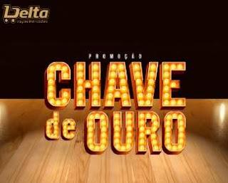 Cadastrar Promoção Chave de Ouro Delta Supermercados Aniversário 2018