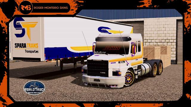 Roger Monteiro, Scania 113, 113H, Skins Scania 113, Scania 113 com faixas