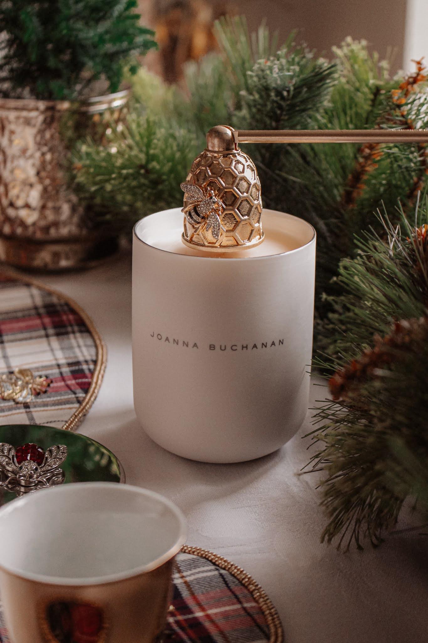 Joanna Buchanan Christmas Candle