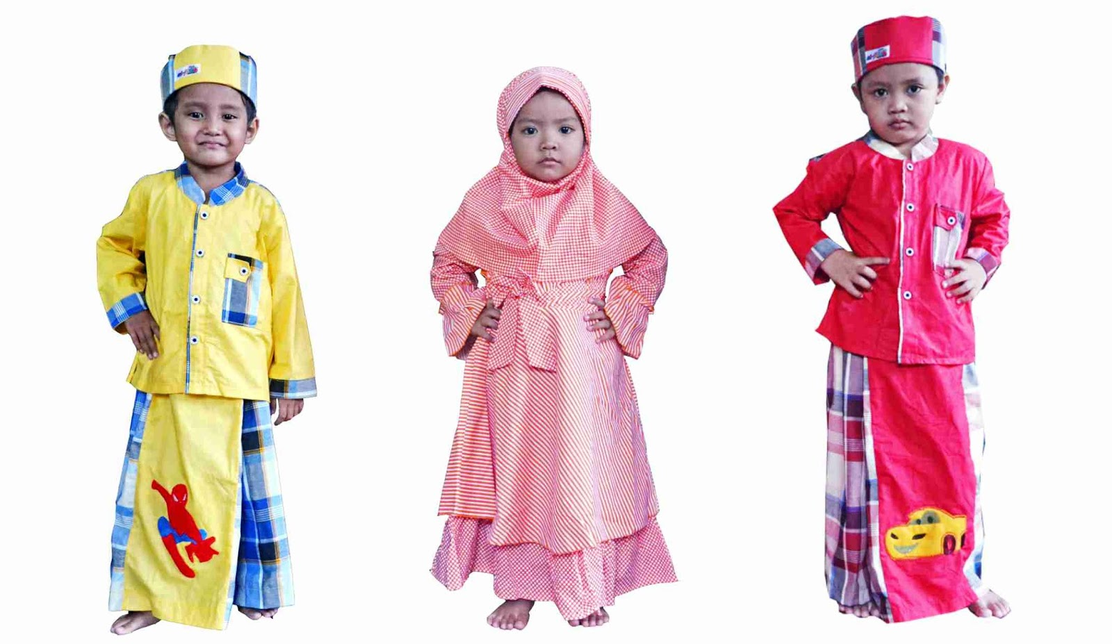 Duh Lucunya Koleksi Baju Muslim Anak Produk Alfatih Moslem Kids Desa