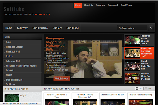 Sufitube Blog Video Tentang Sufi