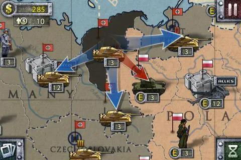 Screenshot European War Two - Apcoid