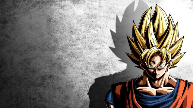 Dragon Ball Z Goku Fond Gris - Fond d'écran en Ultra HD 4K