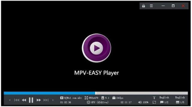 أفضل, برنامج, لتشغيل, الأفلام, وملفات, الوسائط, بجودة, فائقة, MPV-EASY ,Player