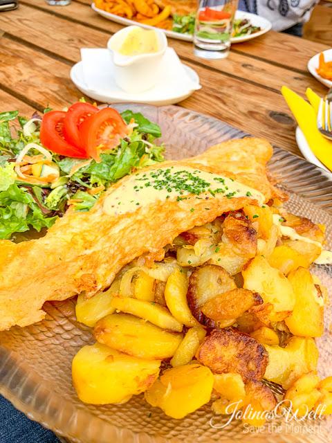 Pannfisch im Restaurant Achter´t Holt Damp