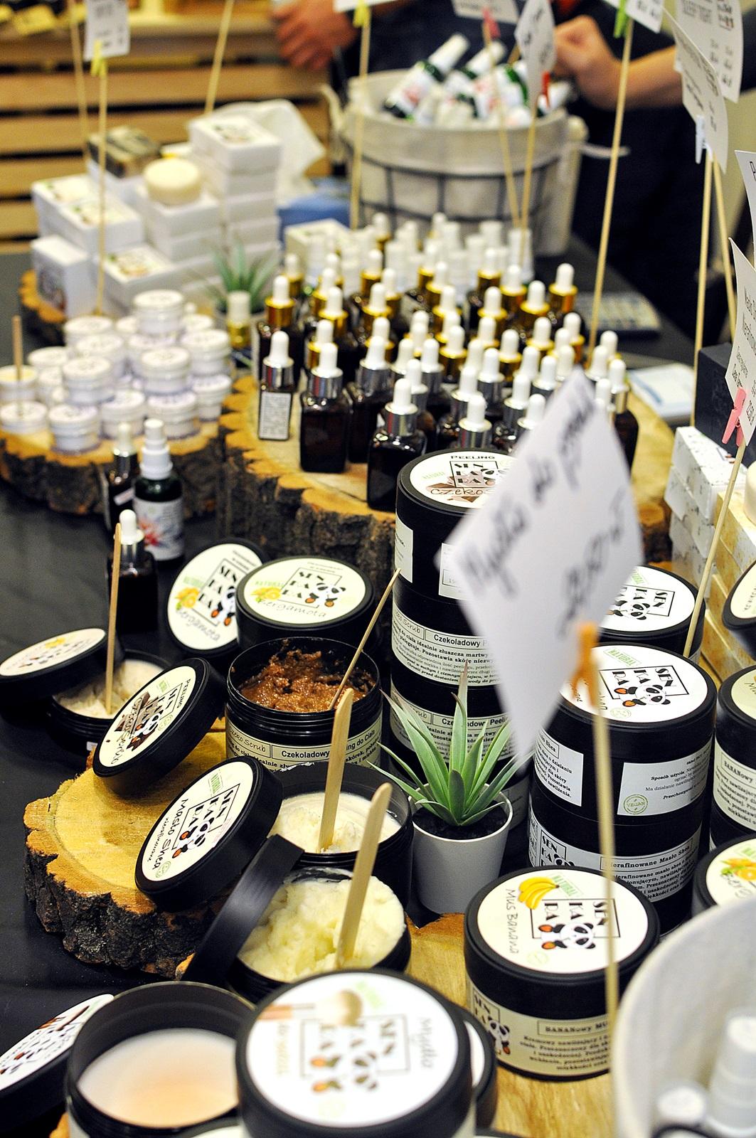 kosmetyki naturalne senkara na targach kosmetykow ekotyki w krakowie