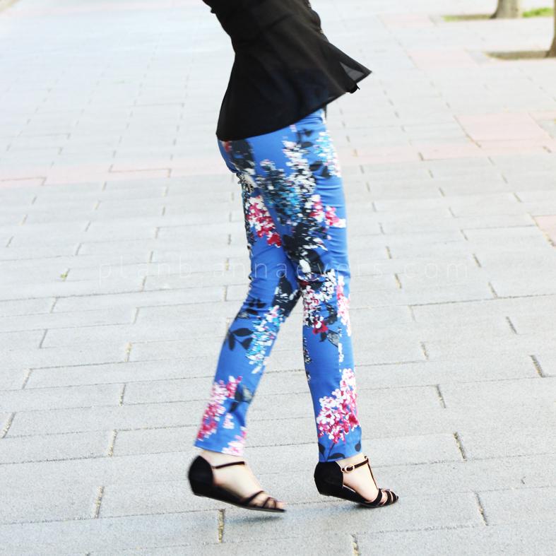 DIY Skinny Leg Pants Pattern