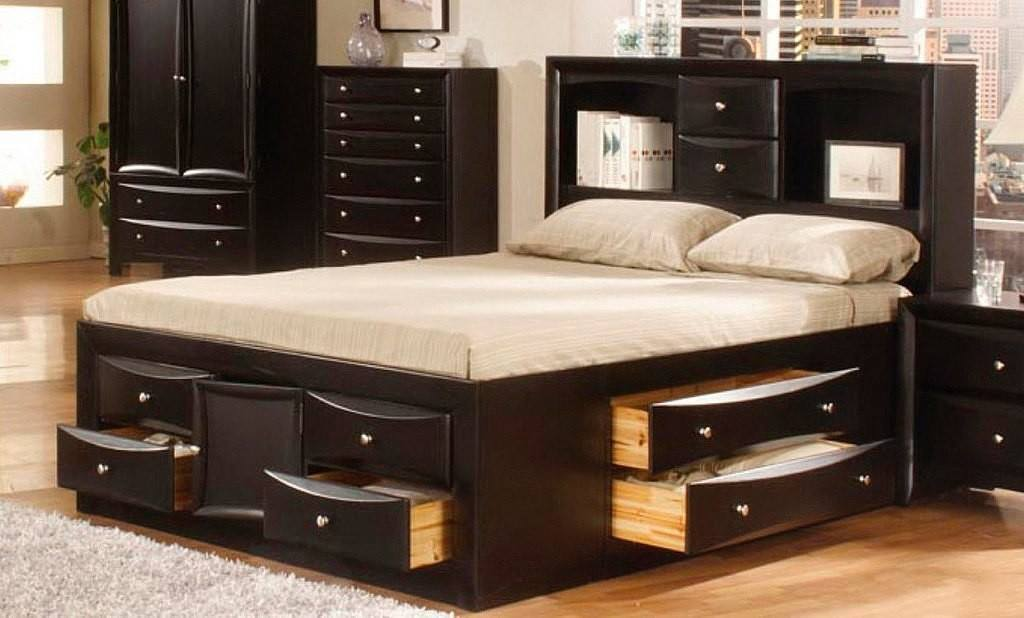 60 Incredible Queen-Sized Beds with Storage Drawers ...