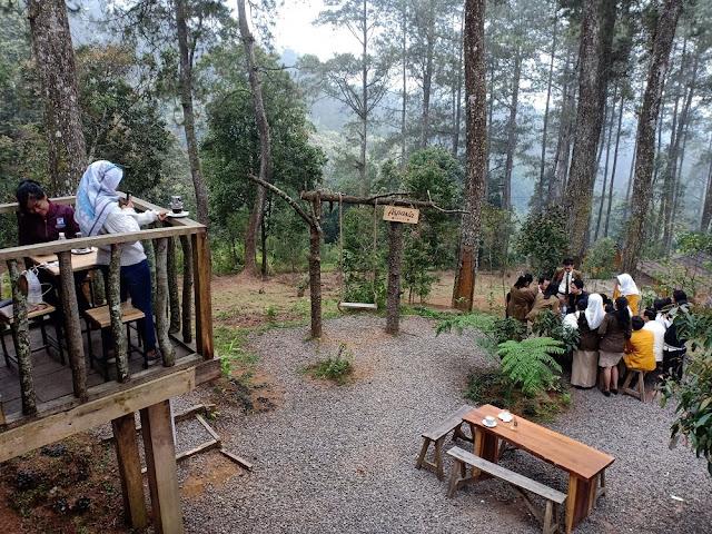 Aspasia Coffee di kawasan Orchid Forest