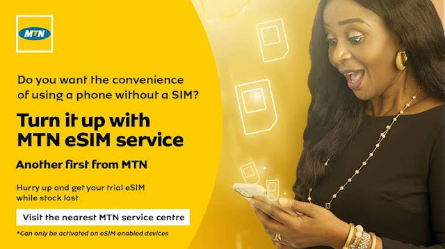 MTN eSIM launch