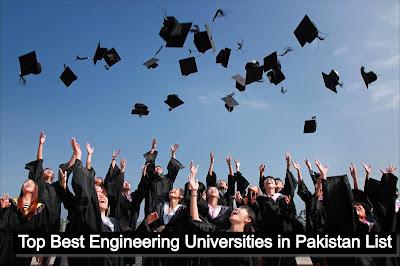Top Best Engineering Universities in Pakistan List