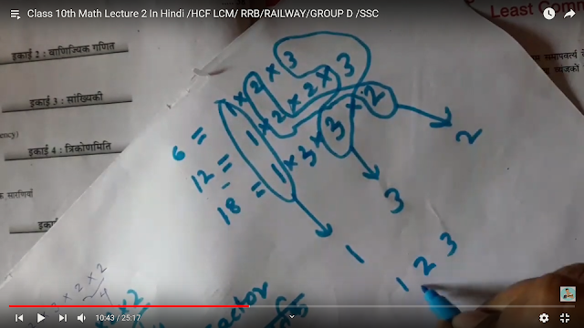 Factor  Class 10th math  हिंदी में  HD IMAGE 3