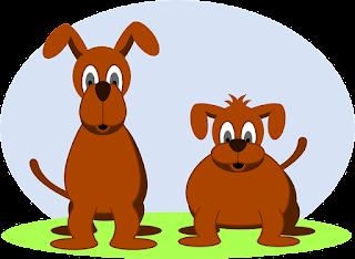 dois-cachorros-ilustracao
