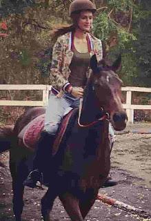 Kriti Sanon Horse Riding
